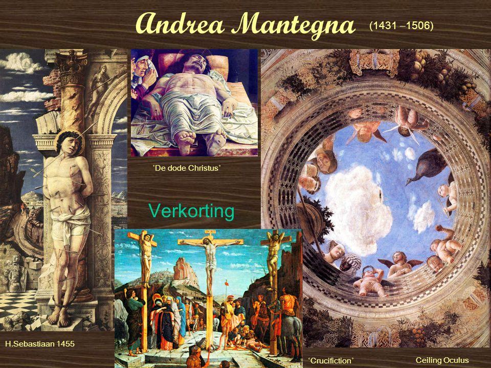 Andrea Mantegna Verkorting (1431 –1506) 'De dode Christus'