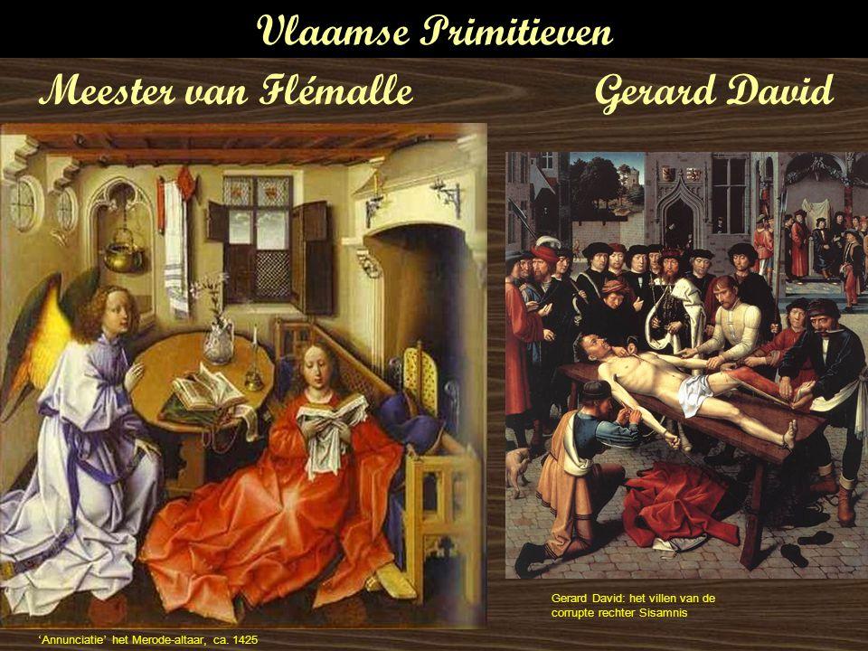 Vlaamse Primitieven Meester van Flémalle Gerard David