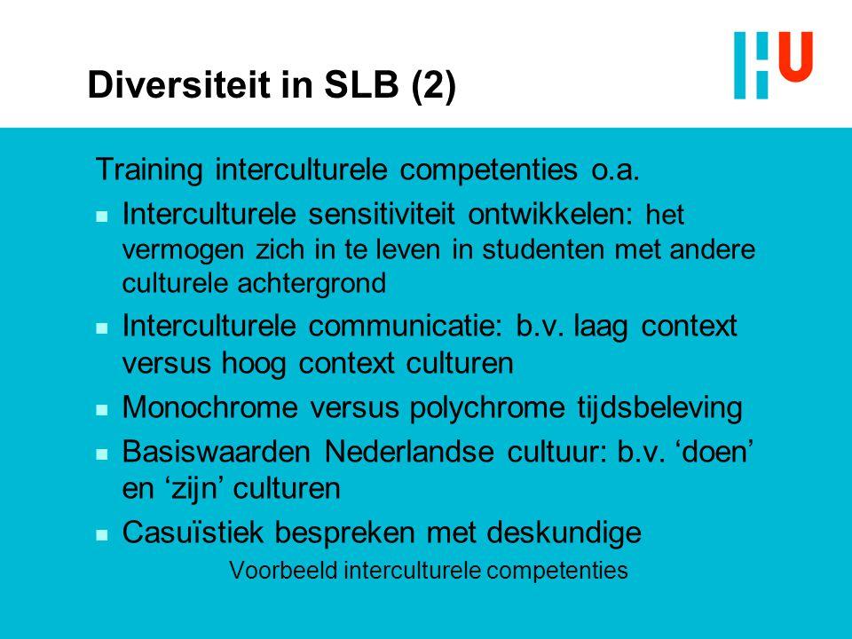 Voorbeeld interculturele competenties