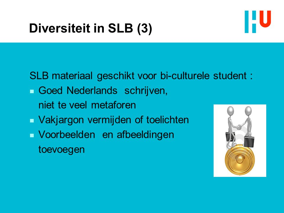 Diversiteit in SLB (3) SLB materiaal geschikt voor bi-culturele student : Goed Nederlands schrijven,