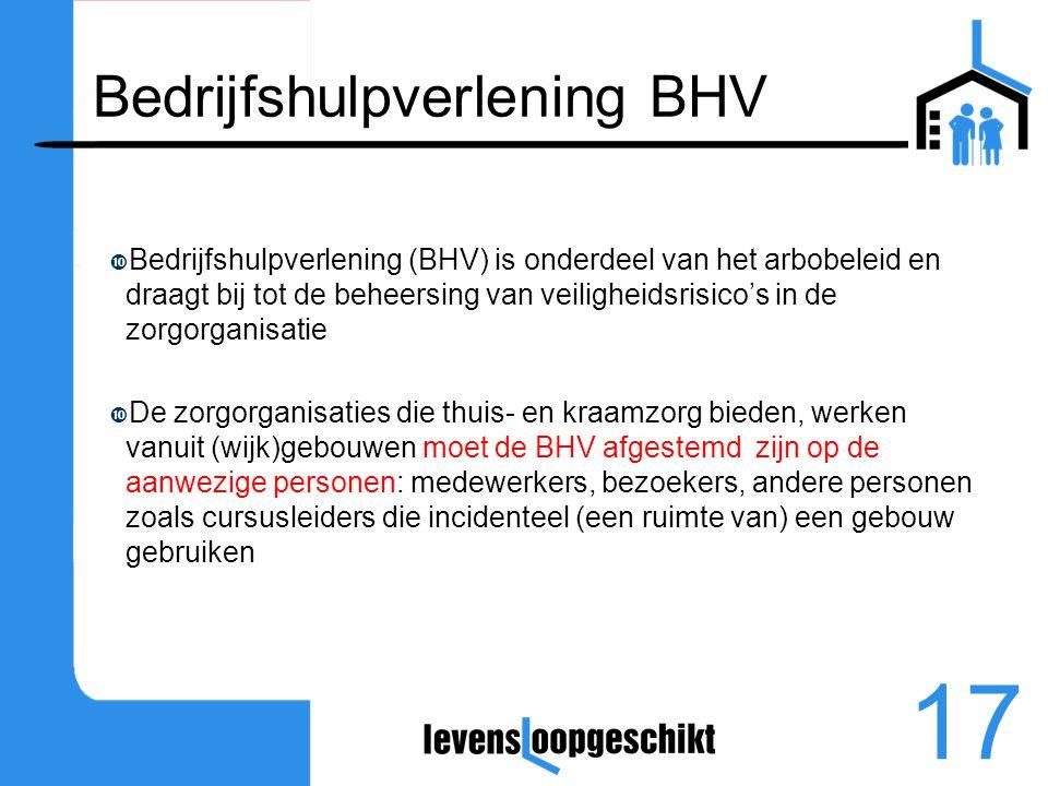 Bedrijfshulpverlening BHV