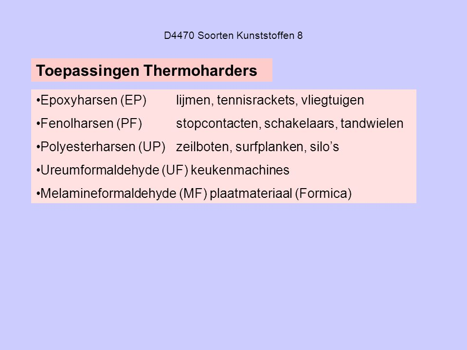 D4470 Soorten Kunststoffen 8
