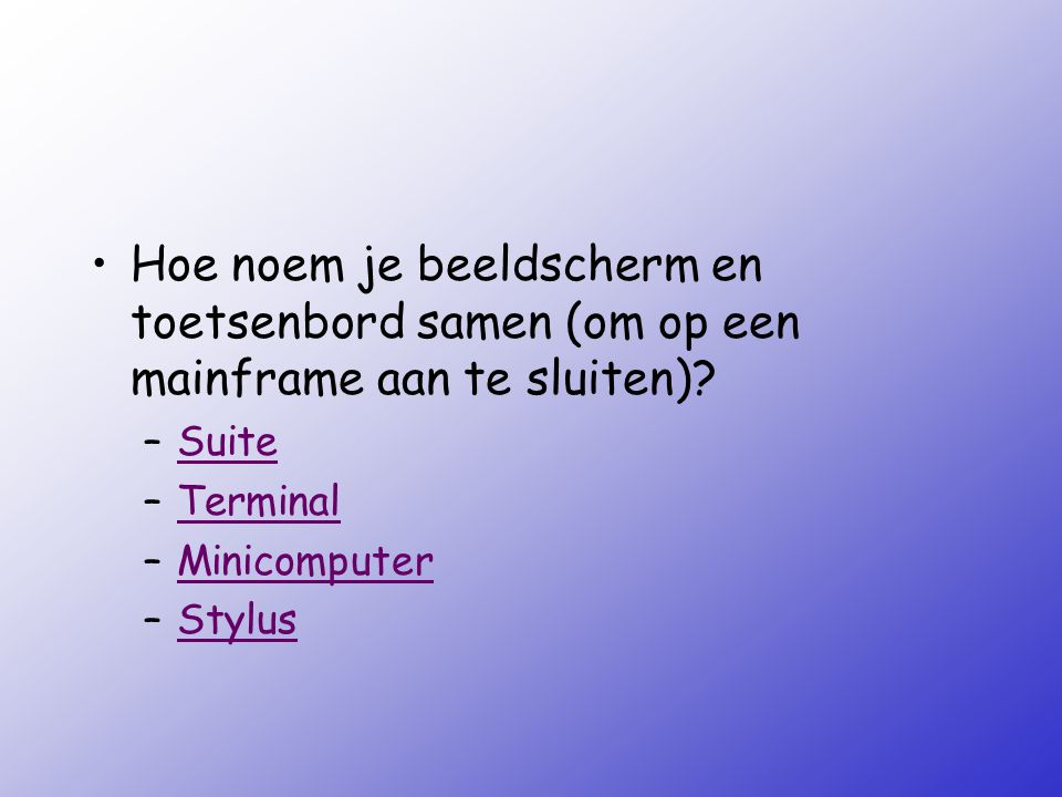 Het computersysteem ppt video online download - Hoe je je keuken op te lichten ...