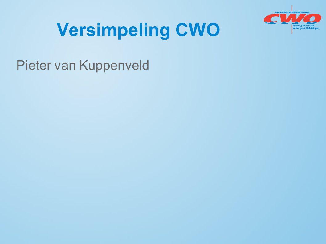 Versimpeling CWO Pieter van Kuppenveld