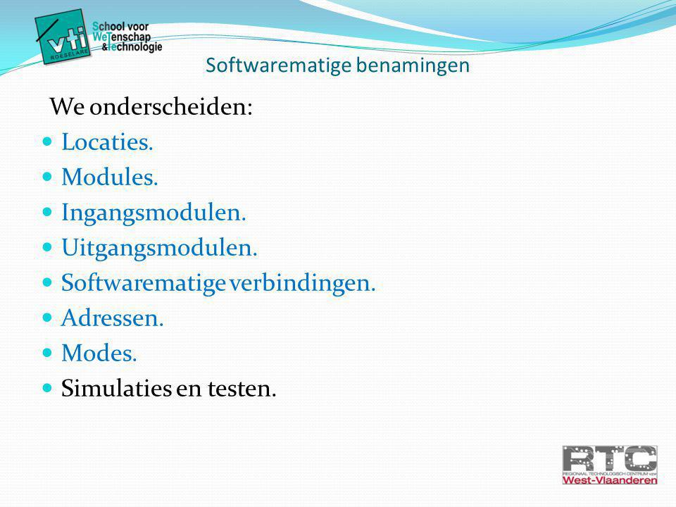 Softwarematige benamingen