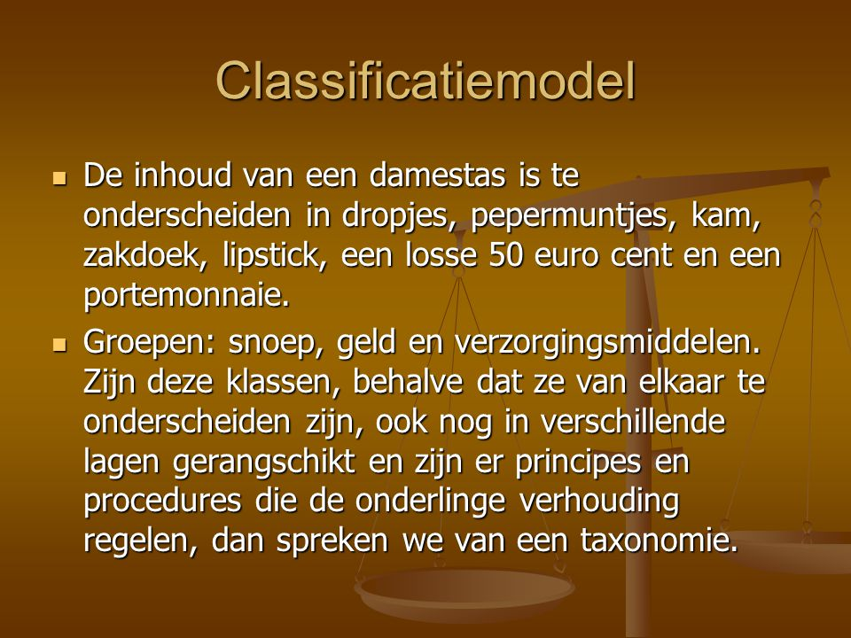 Classificatiemodel