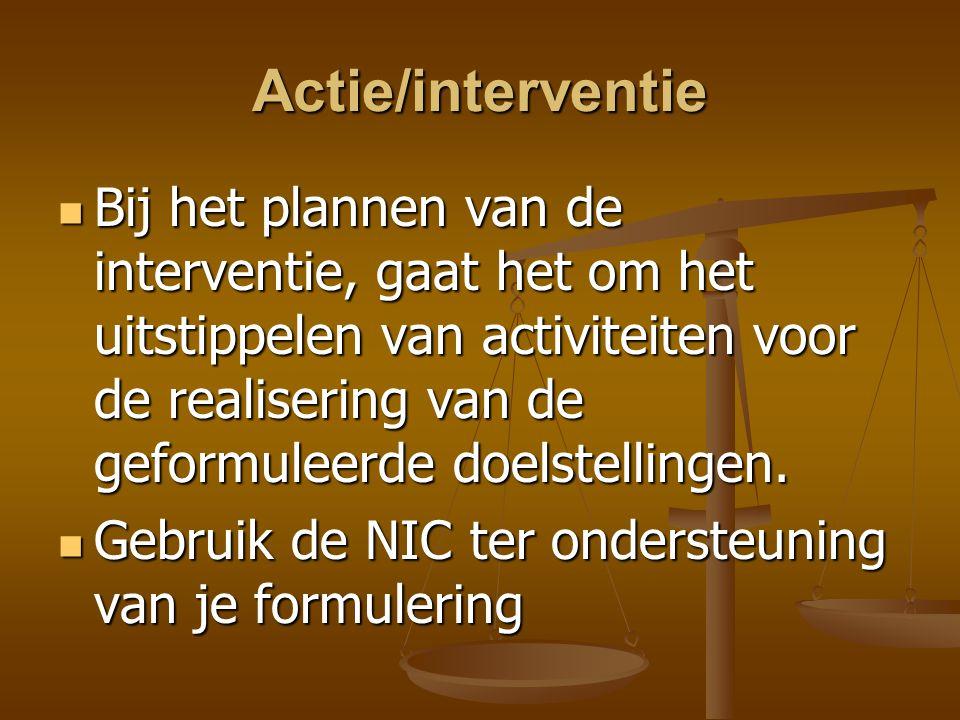 Actie/interventie