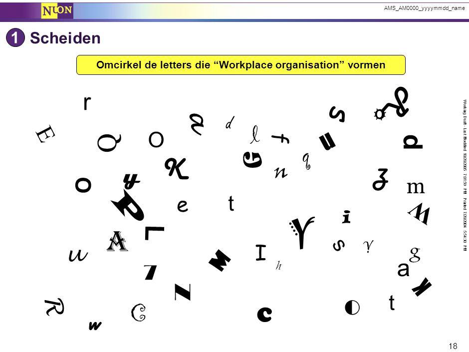 5S - Voordelen van werkplekorganisatie