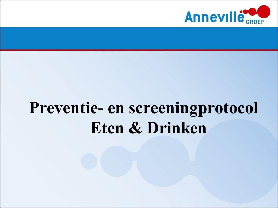 Preventie- en screeningprotocol Eten & Drinken