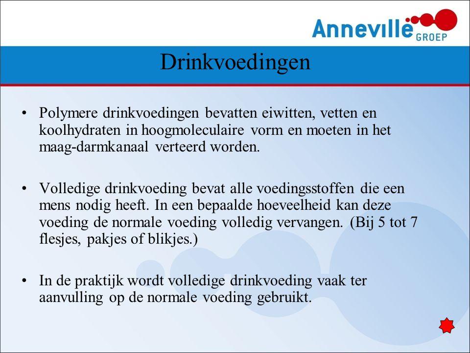 Drinkvoedingen