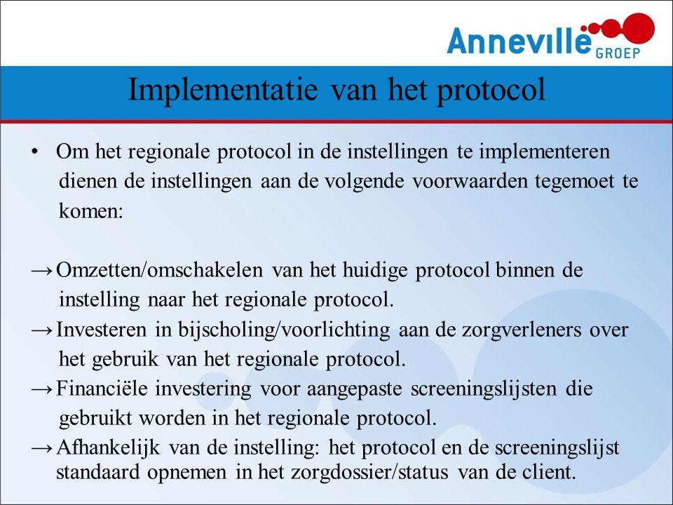 Implementatie van het protocol