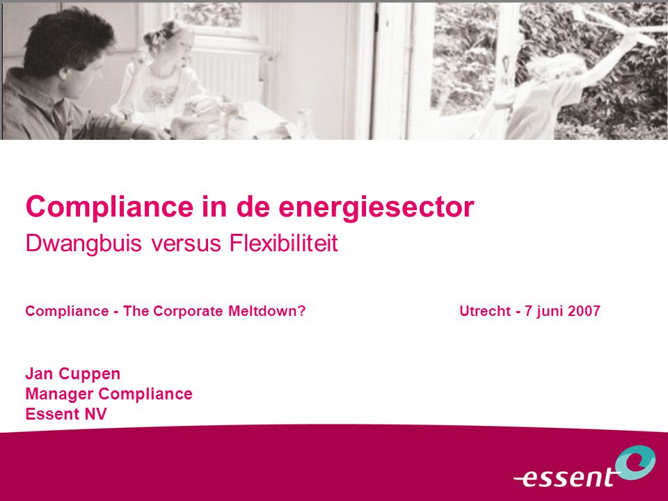 Compliance in de energiesector