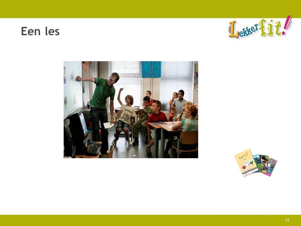 April 4, 2017 Een les Lekker fit!, Praktijk