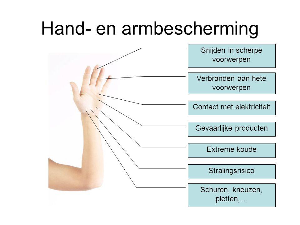 Hand- en armbescherming
