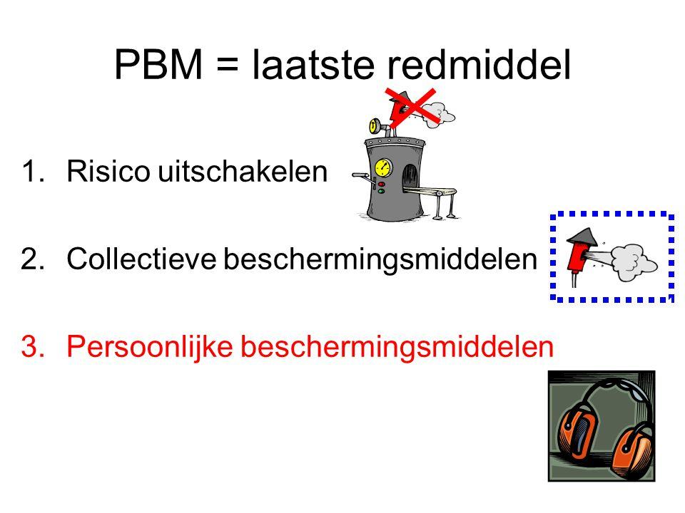 PBM = laatste redmiddel