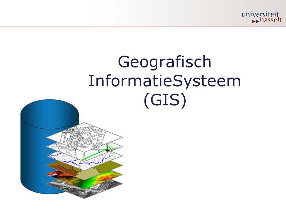 Geografisch InformatieSysteem (GIS)