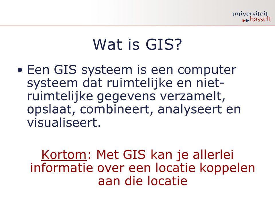 Wat is GIS