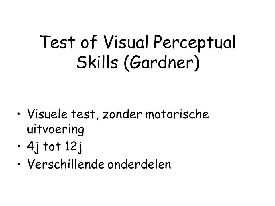 Test of Visual Perceptual Skills (Gardner)
