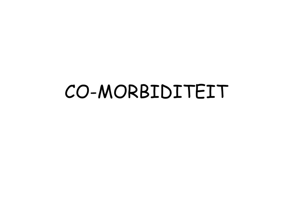 CO-MORBIDITEIT