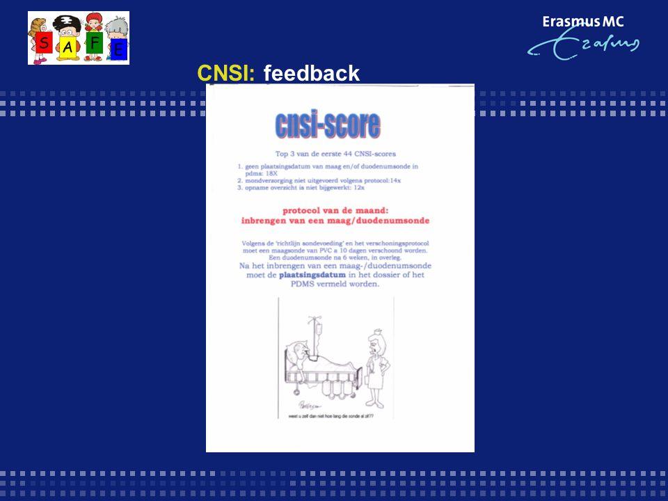 CNSI: feedback