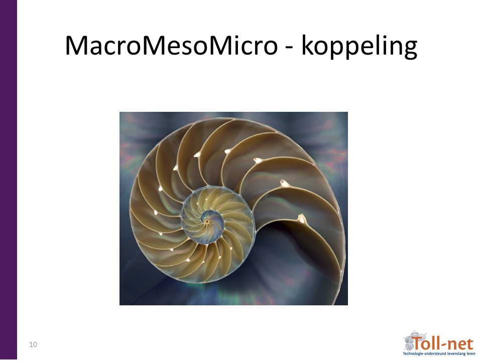 MacroMesoMicro - koppeling