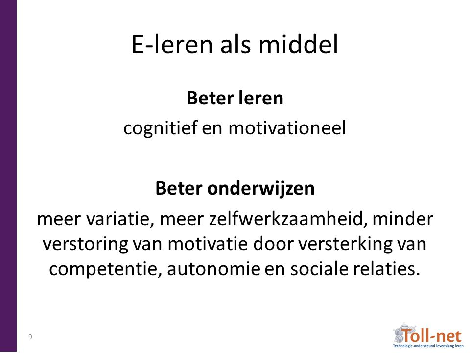 cognitief en motivationeel