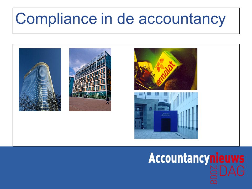 Compliance in de accountancy