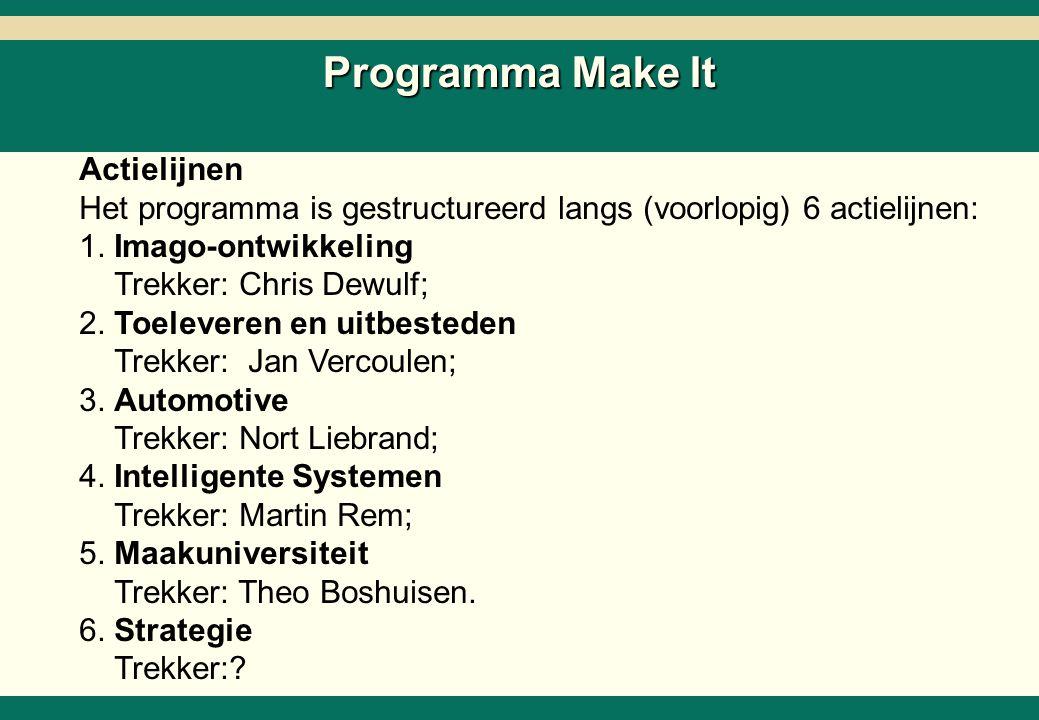 Projecten en activiteiten T&U
