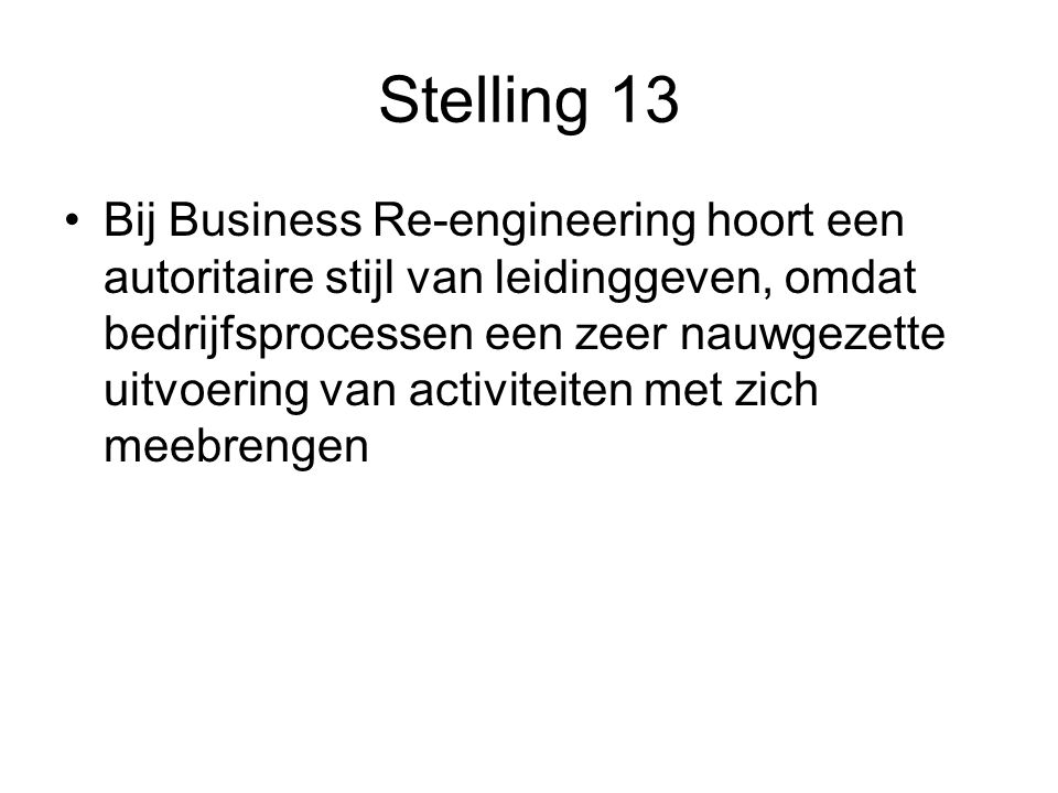 Stelling 13