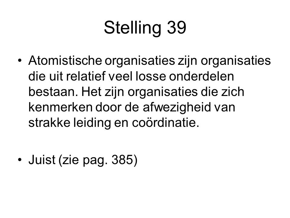 Stelling 39