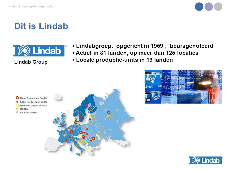 Lindab Workshop 1 - najaar 2012