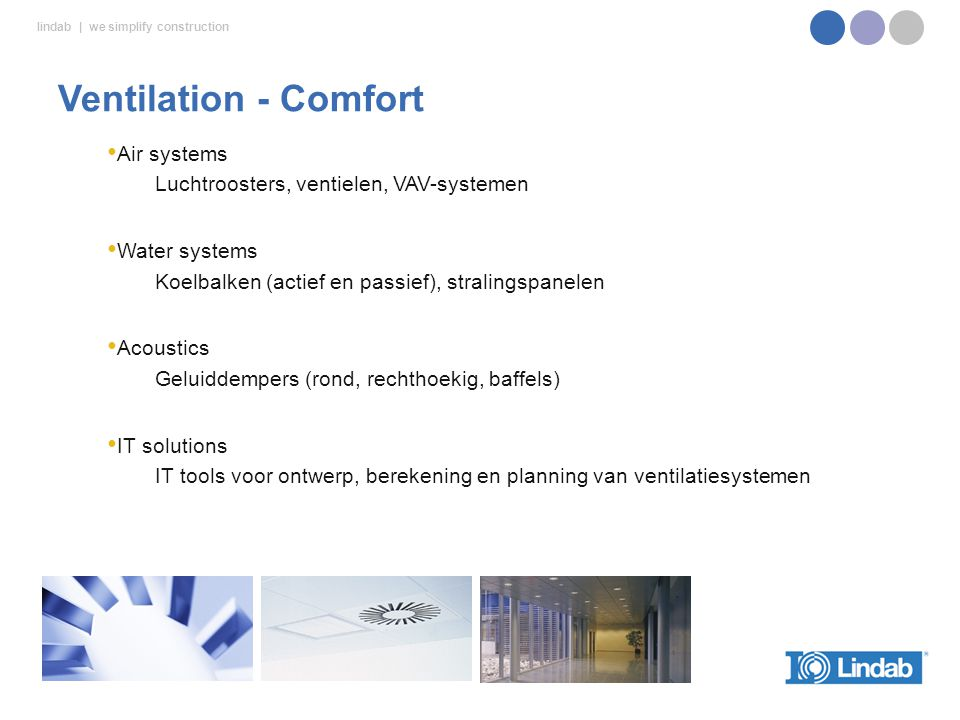 Ventilation - Comfort Air systems