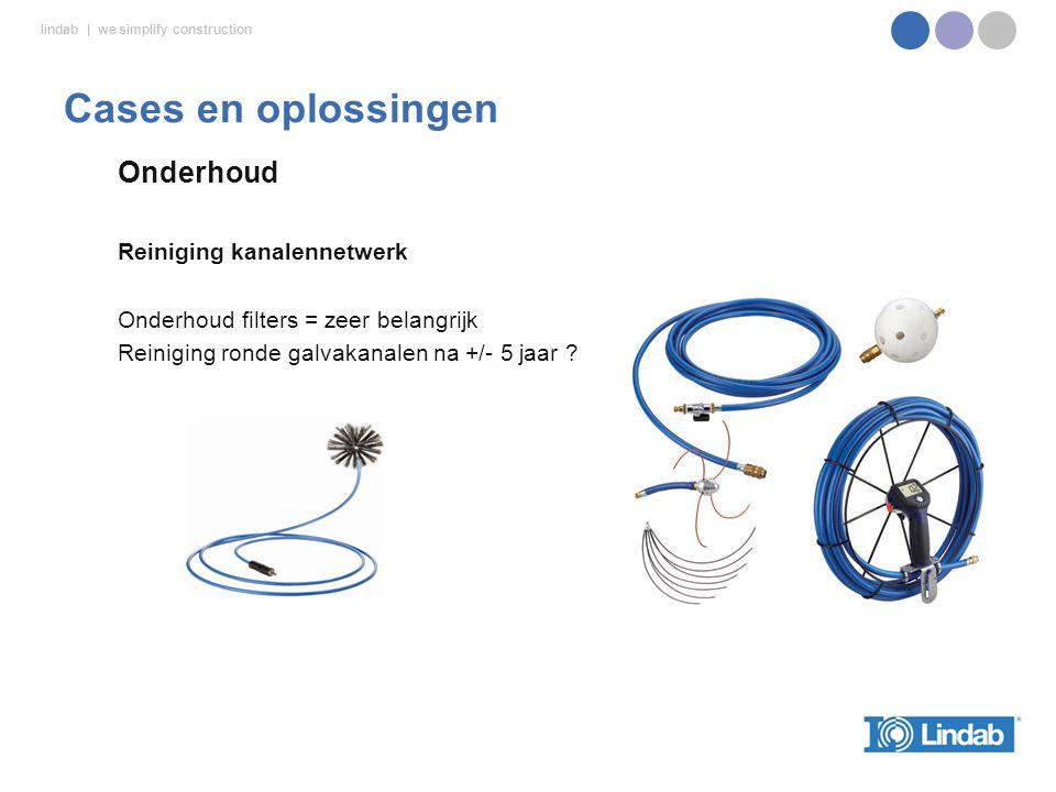 Cases en oplossingen Onderhoud Reiniging kanalennetwerk