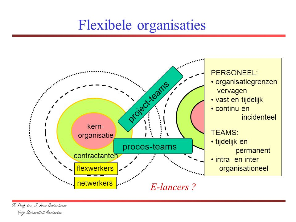 Flexibele organisaties