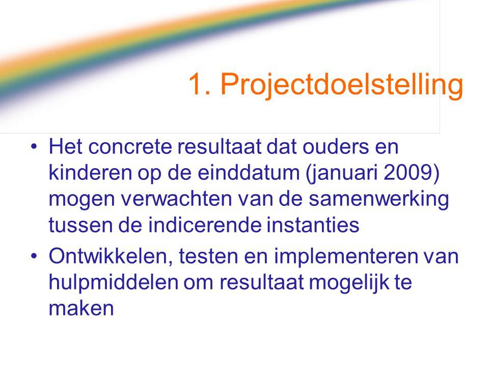 1. Projectdoelstelling