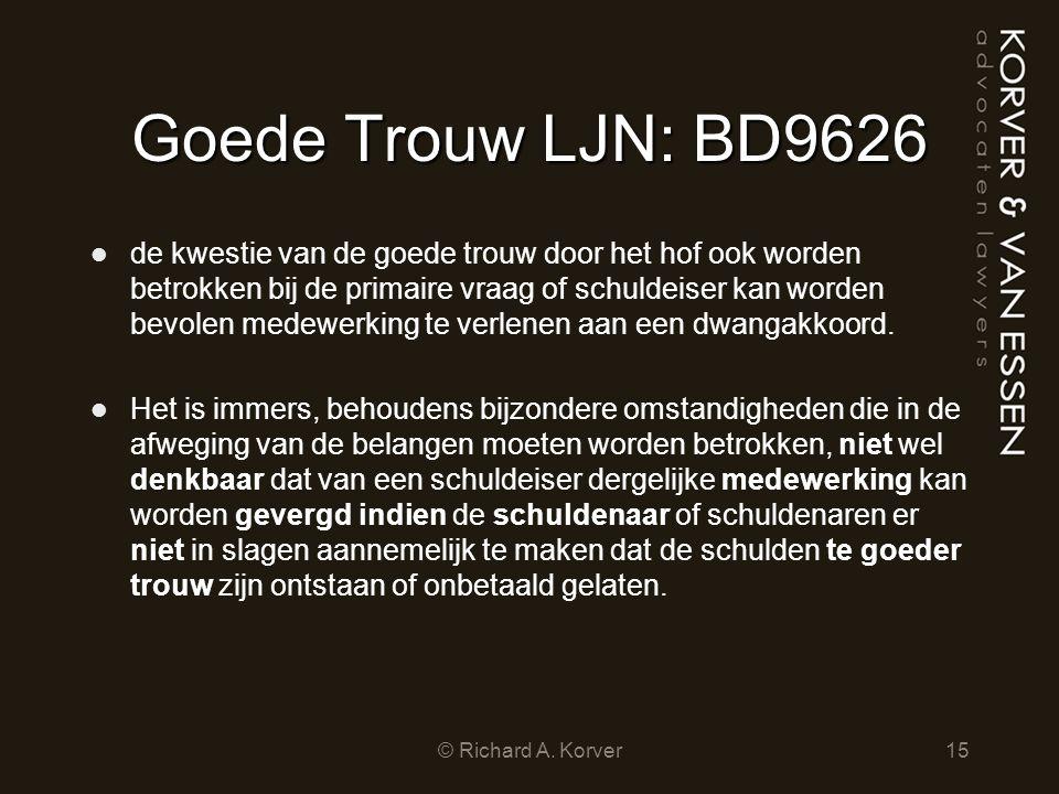 Goede Trouw LJN: BD9626