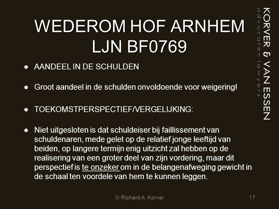WEDEROM HOF ARNHEM LJN BF0769