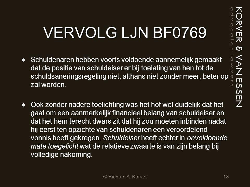 VERVOLG LJN BF0769