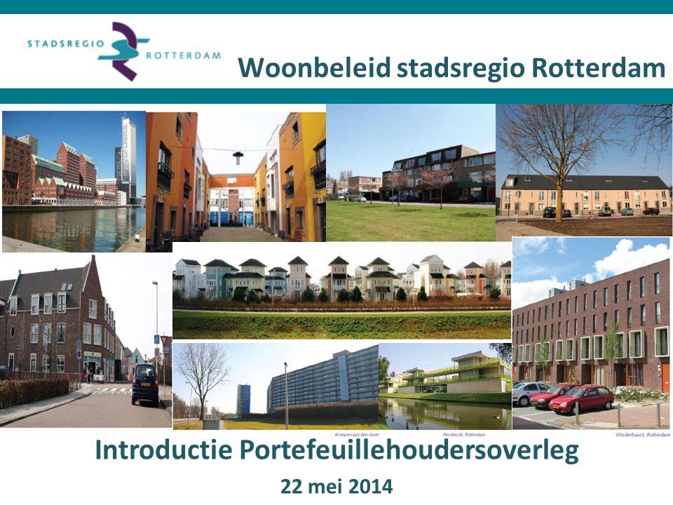 Woonbeleid stadsregio Rotterdam
