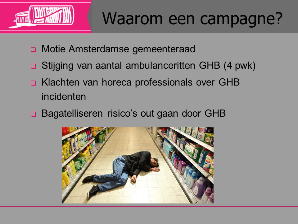 Waarom een campagne Motie Amsterdamse gemeenteraad