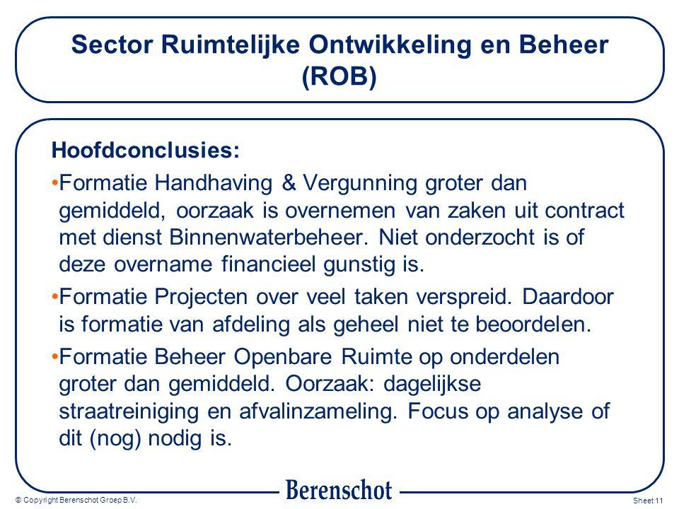 Sector Ruimtelijke Ontwikkeling en Beheer (ROB)