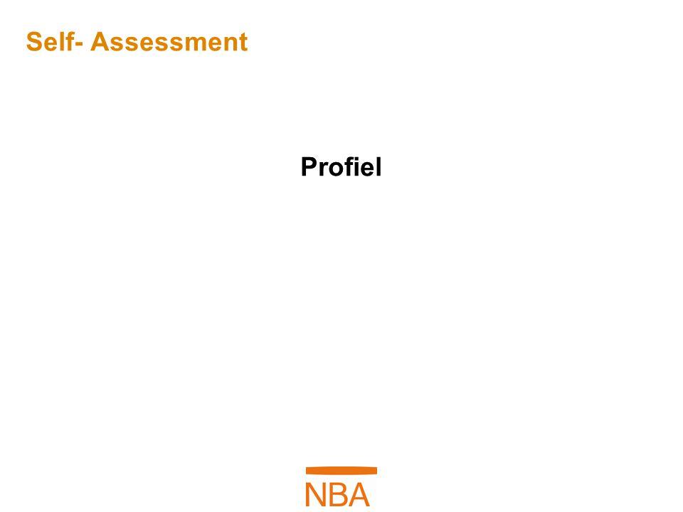 Self- Assessment Profiel