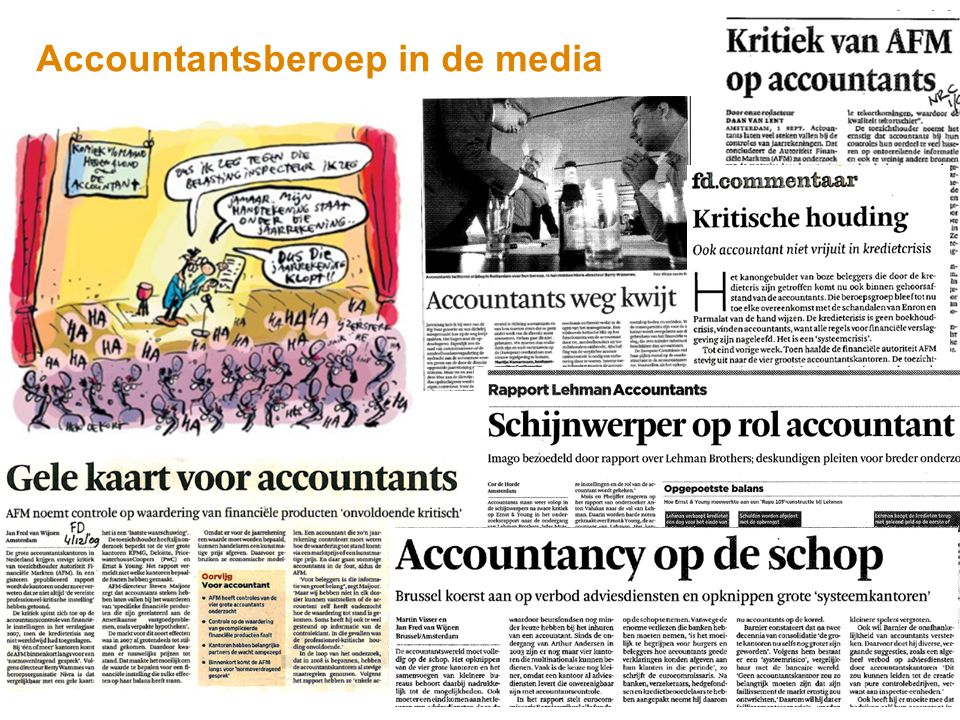 Accountantsberoep in de media