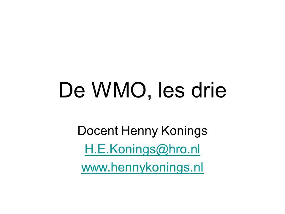 Docent Henny Konings H.E.Konings@hro.nl www.hennykonings.nl
