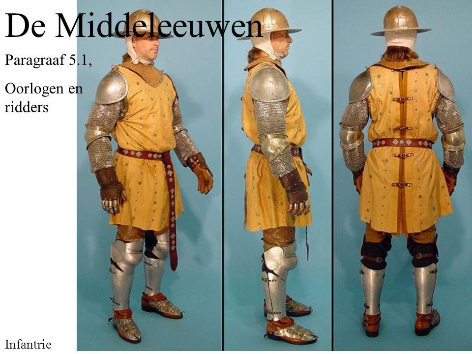 De Middeleeuwen Paragraaf 5.1, Oorlogen en ridders Infantrie