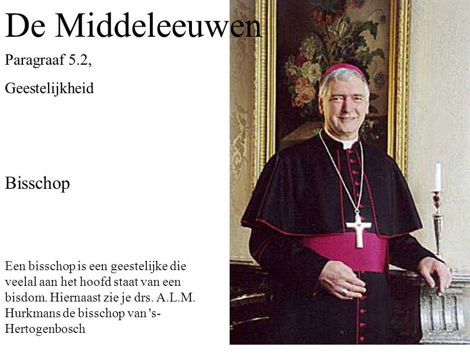 De Middeleeuwen Bisschop Paragraaf 5.2, Geestelijkheid