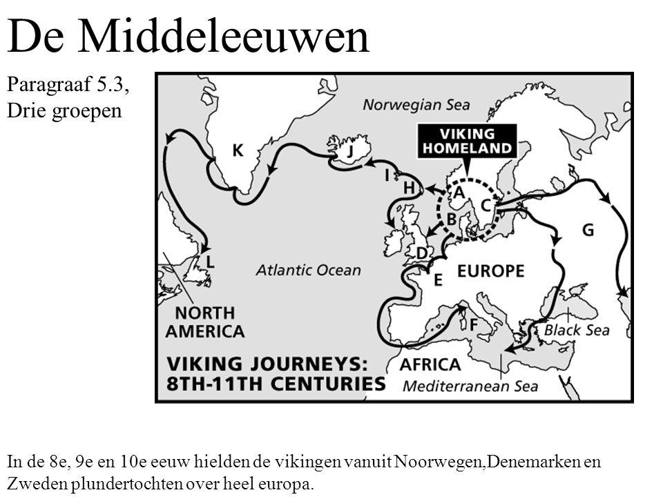 De Middeleeuwen Paragraaf 5.3, Drie groepen