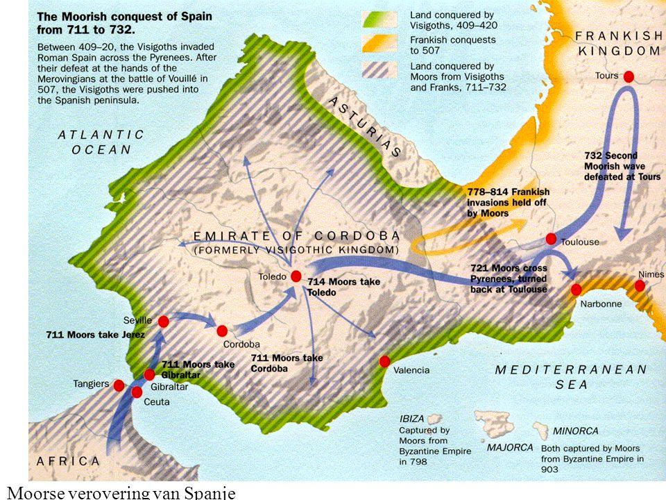 Moorse verovering van Spanje