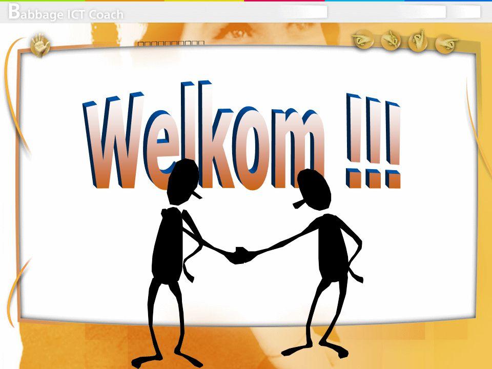 Welkom !!!