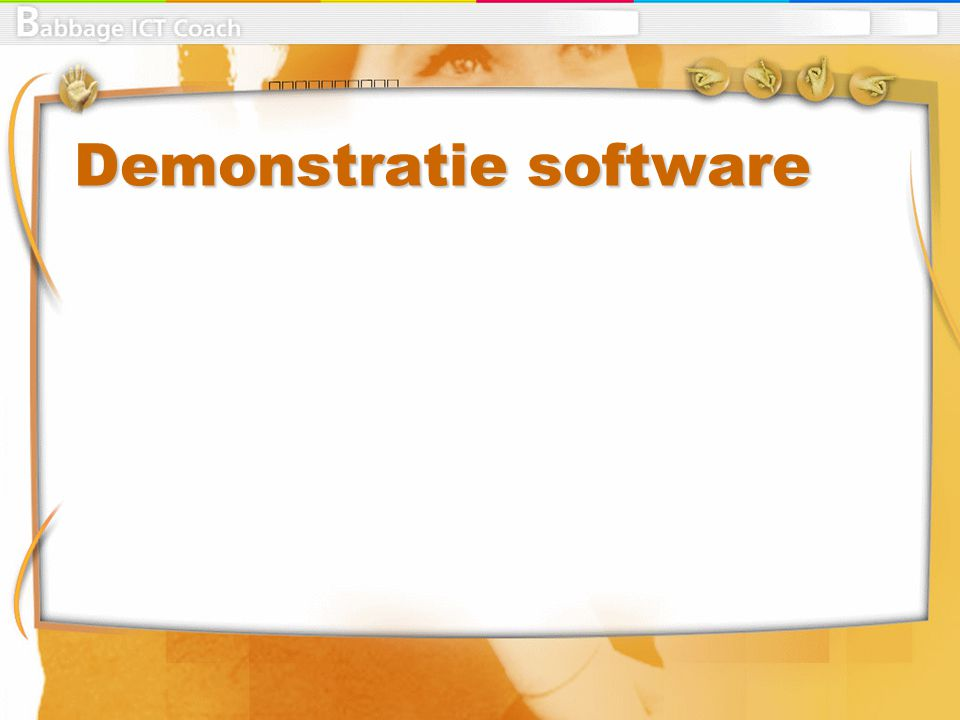 Demonstratie software